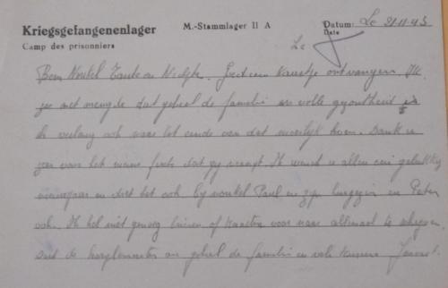Lettre 3