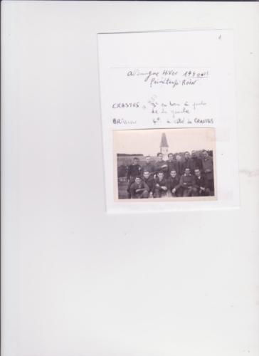 Photo Crastes et Brisson1940