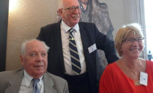 Repas à Obernai avec Pierre Rosfelder