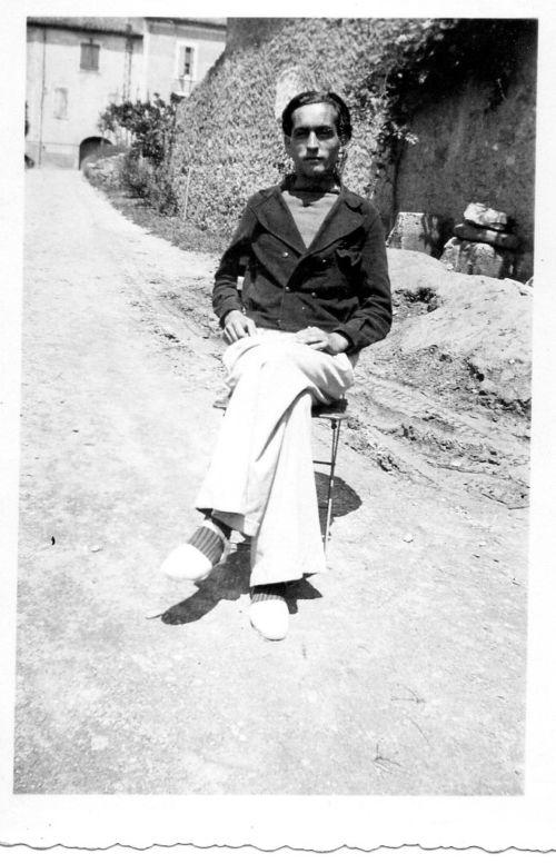 Après la libération en 1945